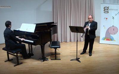 4. koncert šolskega abonmaja – Andrej Zupan, klarinet in Tadej Horvat, klavir