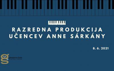 Razredna produkcija učencev Anne Sarkany