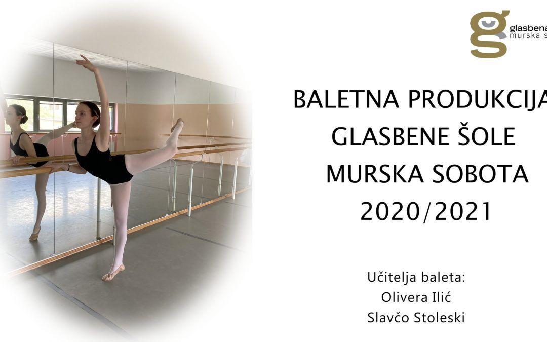 Baletna produkcija