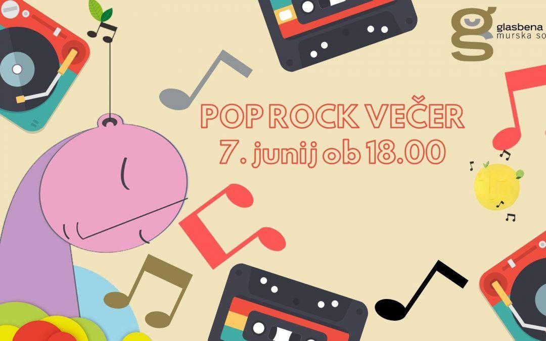 Pop rock večer